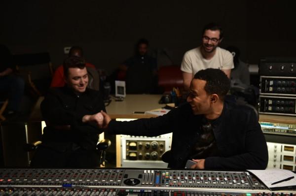 Sam Smith and John Legend