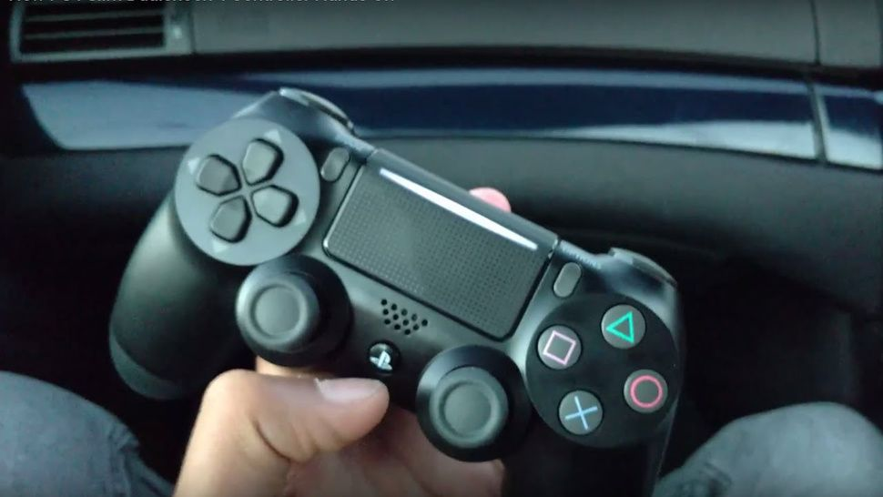 The PlayStation 4 slim has a redesigned controller with a new view of the lightbar