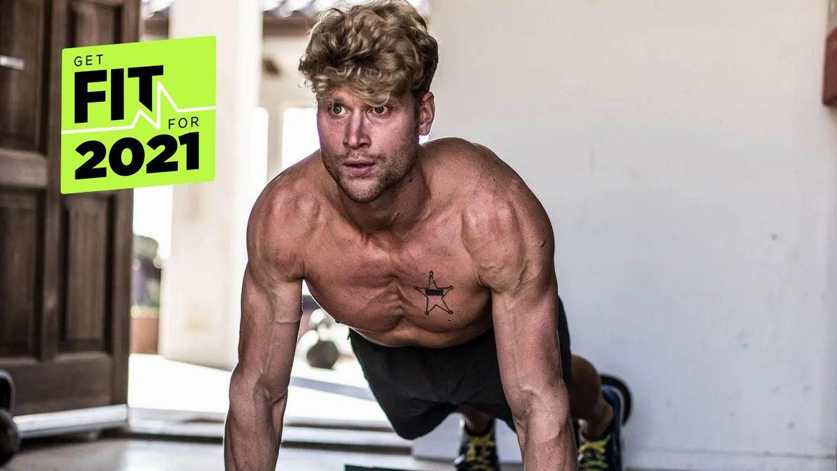Try this INTENSE dumbbell full body workout from a four-time Tough Mudder world champion