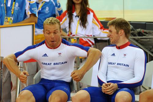 Jason Kenny Chris Hoy men's sprint Olympics