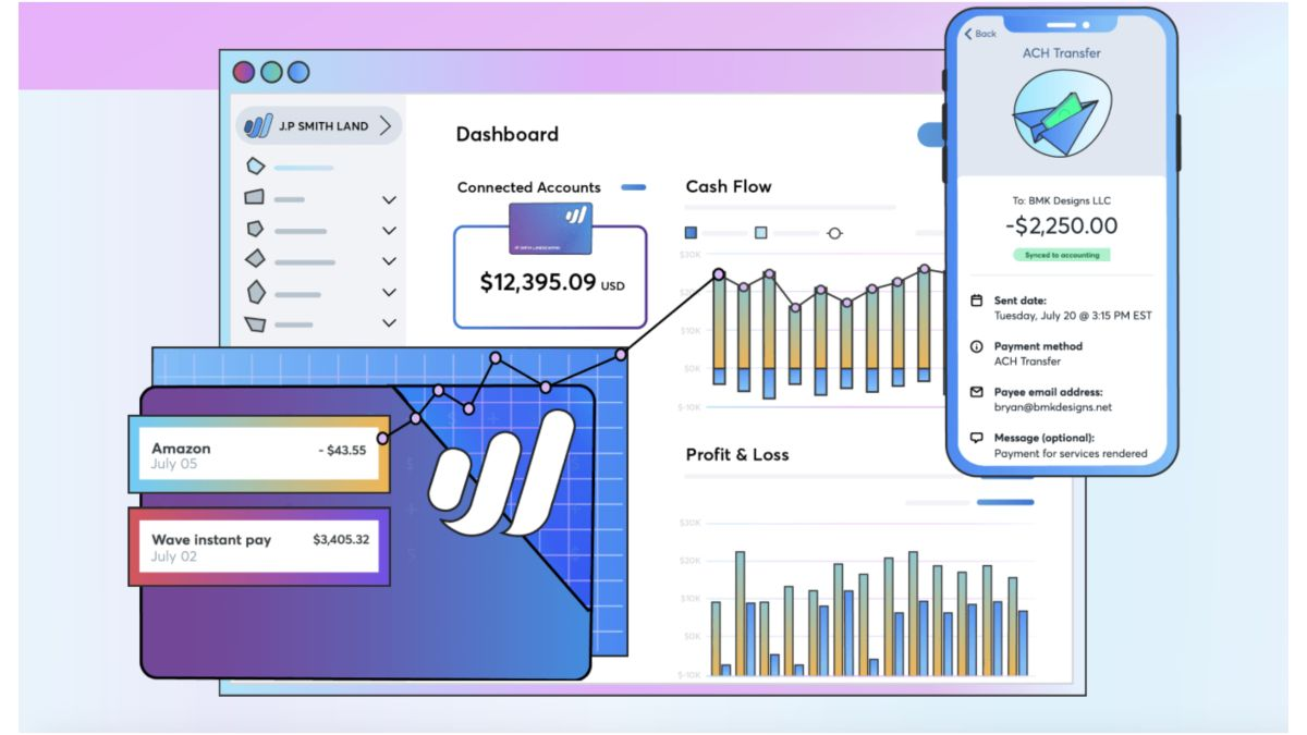 Wave Money is a new no fee bookkeeping solution aimed at small business users