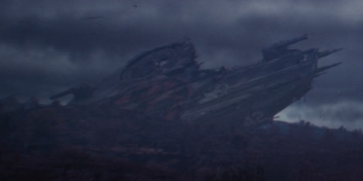 hydra helicarrier in the void in loki episode 5