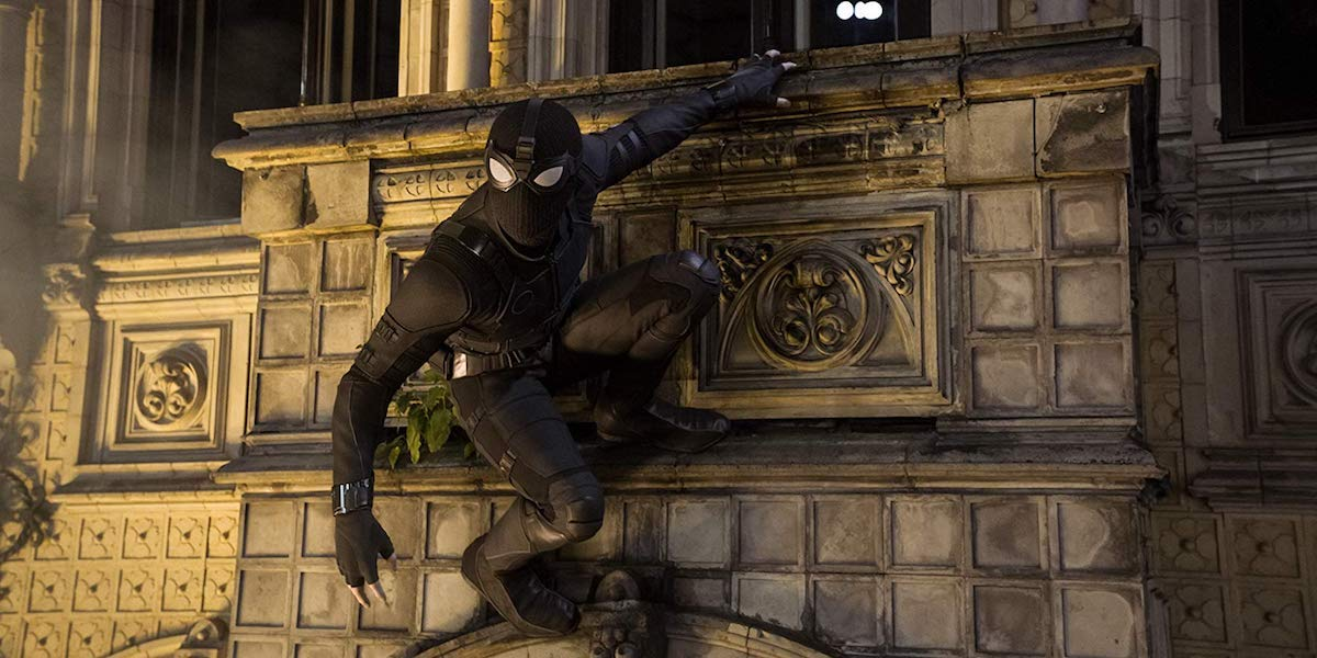Night Monkey Spider-Man Stealth Suit in Far From Home
