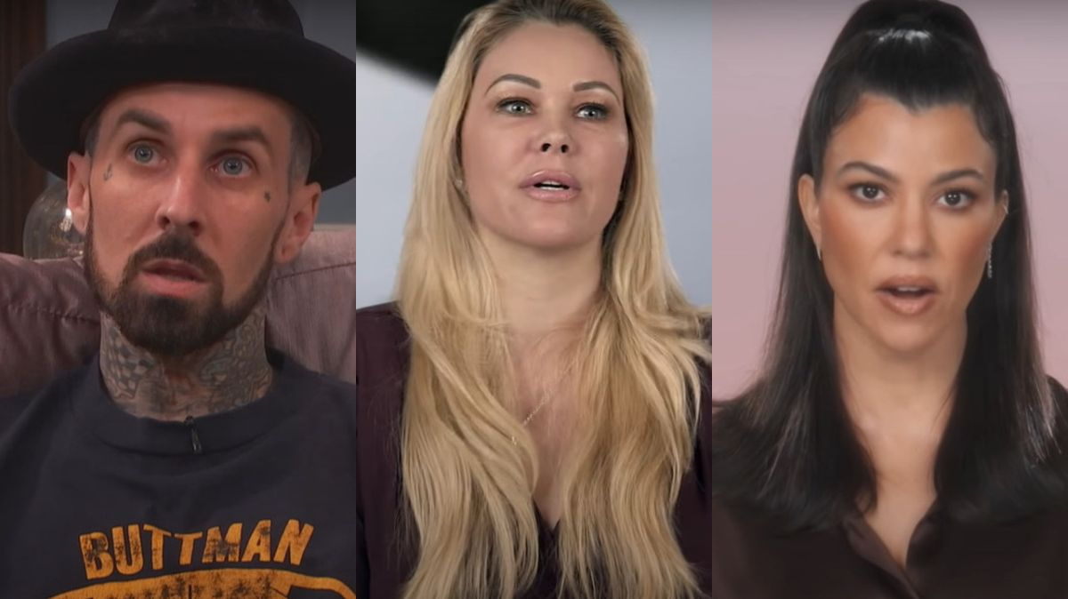 Travis Barker Just Got Tattoos Of Kourtney Kardashian's Lips (And A Big Ol' Scorpion) To Cover Up Ex-Wife Ink