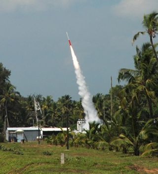 India Launches Rocket with Student Experiments