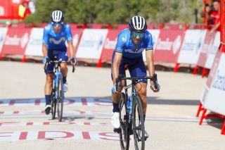 Vuelta Espana 2021 - 76th Edition - 6th stage Requena - Alto de la Montana de Cullera 158,3 km - 19/08/2021 - Alejandro Valverde (ESP - Movistar Team) - photo Luis Angel Gomez/BettiniPhoto©2021
