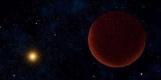 Dwarf Planet DeeDee: Artist's Illustration