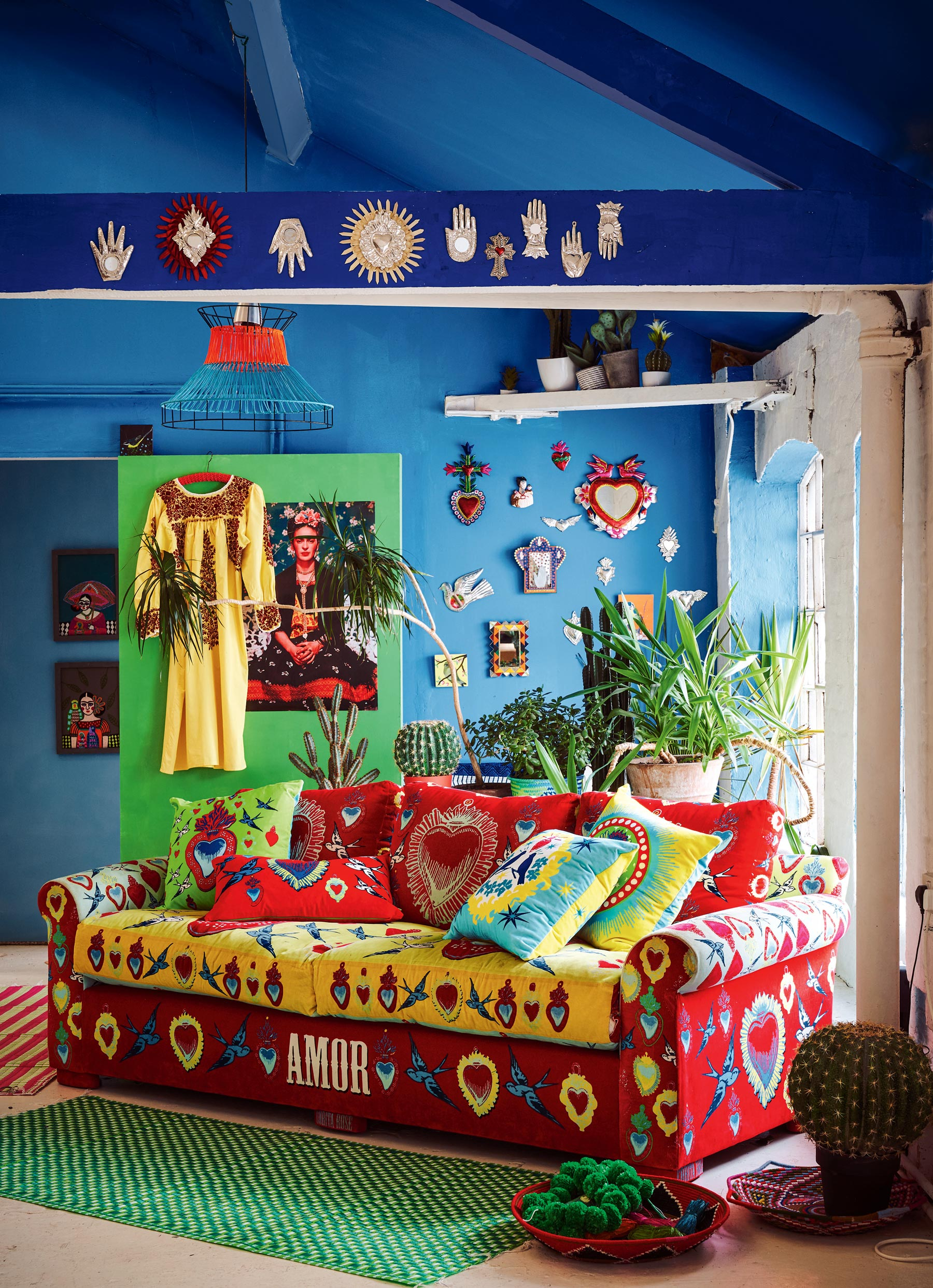 Tremendous Interior Trend Frida Kahlo Style Viva La Frida Mexican Ocoug Best Dining Table And Chair Ideas Images Ocougorg