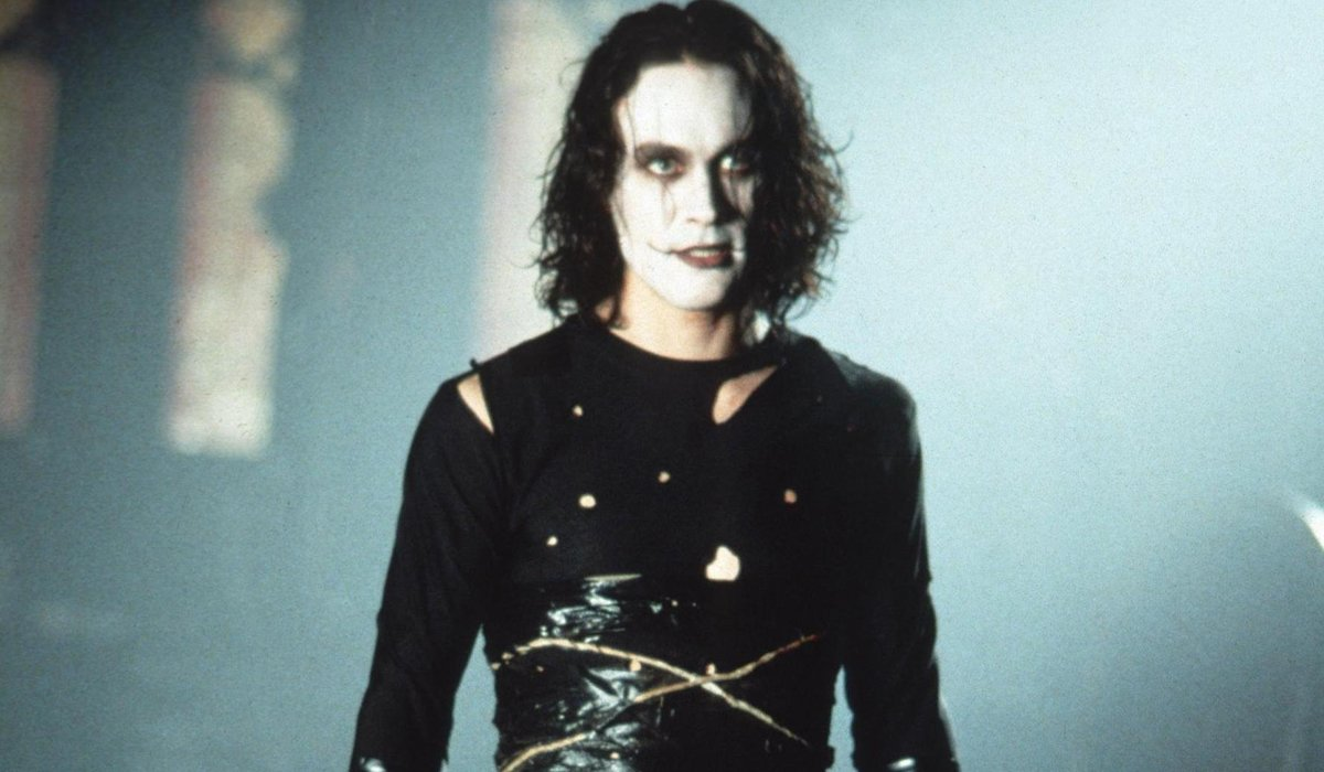 Brandon Lee in The Crow movie