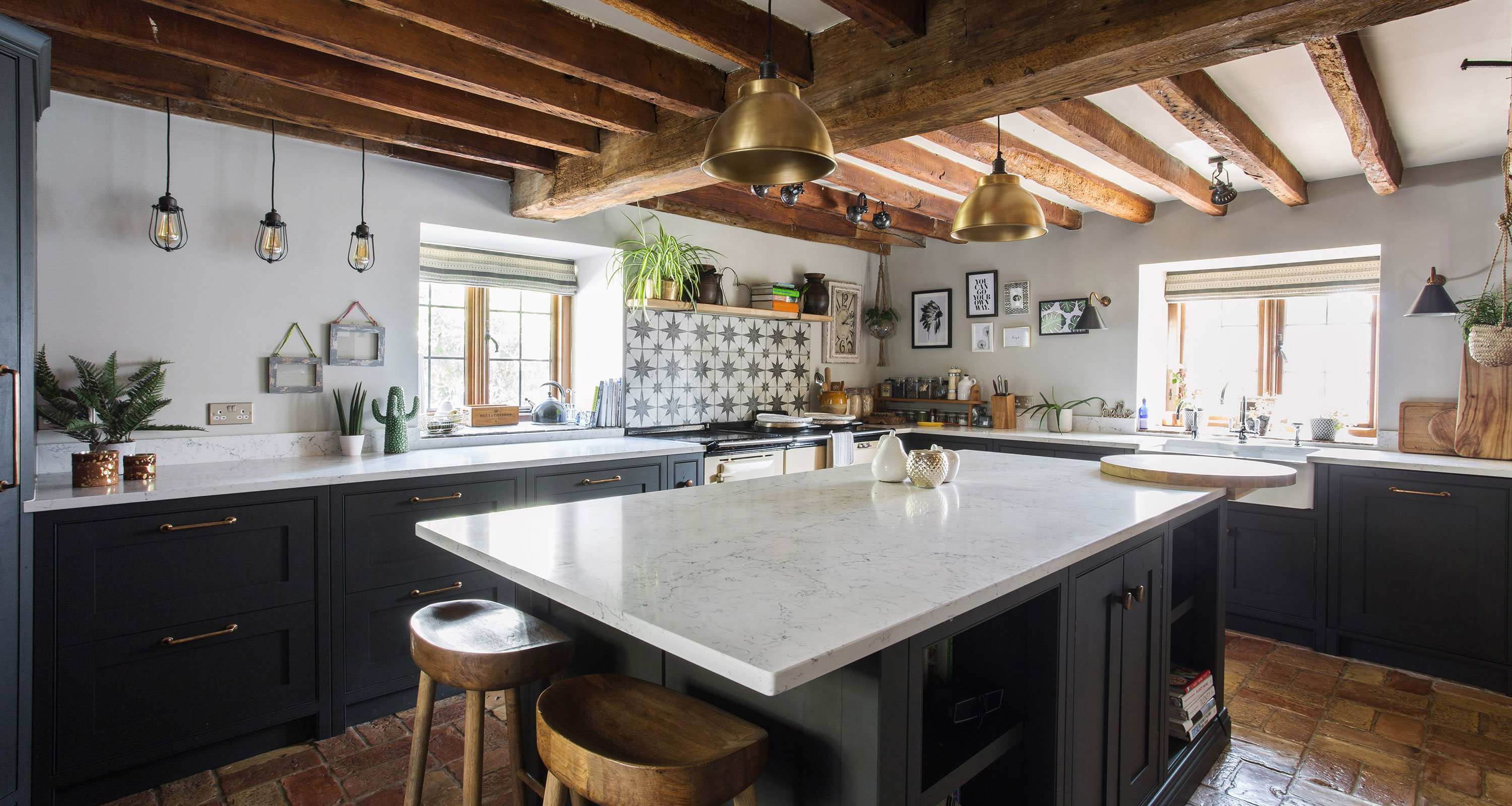 Farmhouse Kitchen Lighting Ideas Bright Ideas For Rustic Spaces Country