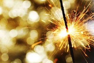 A firework sparlker