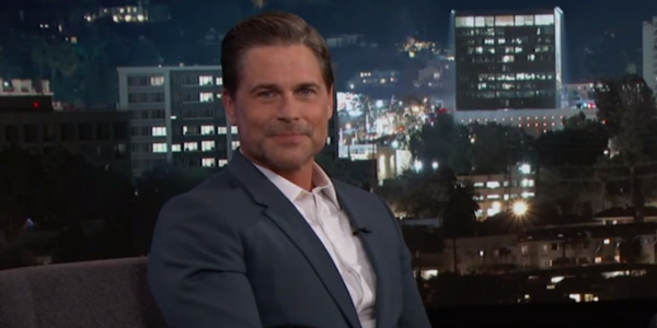 Rob Lowe on Jimmy Kimme Live