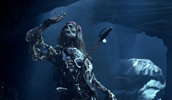 Pirates of the Caribbean Skeleton Jack Sparrow