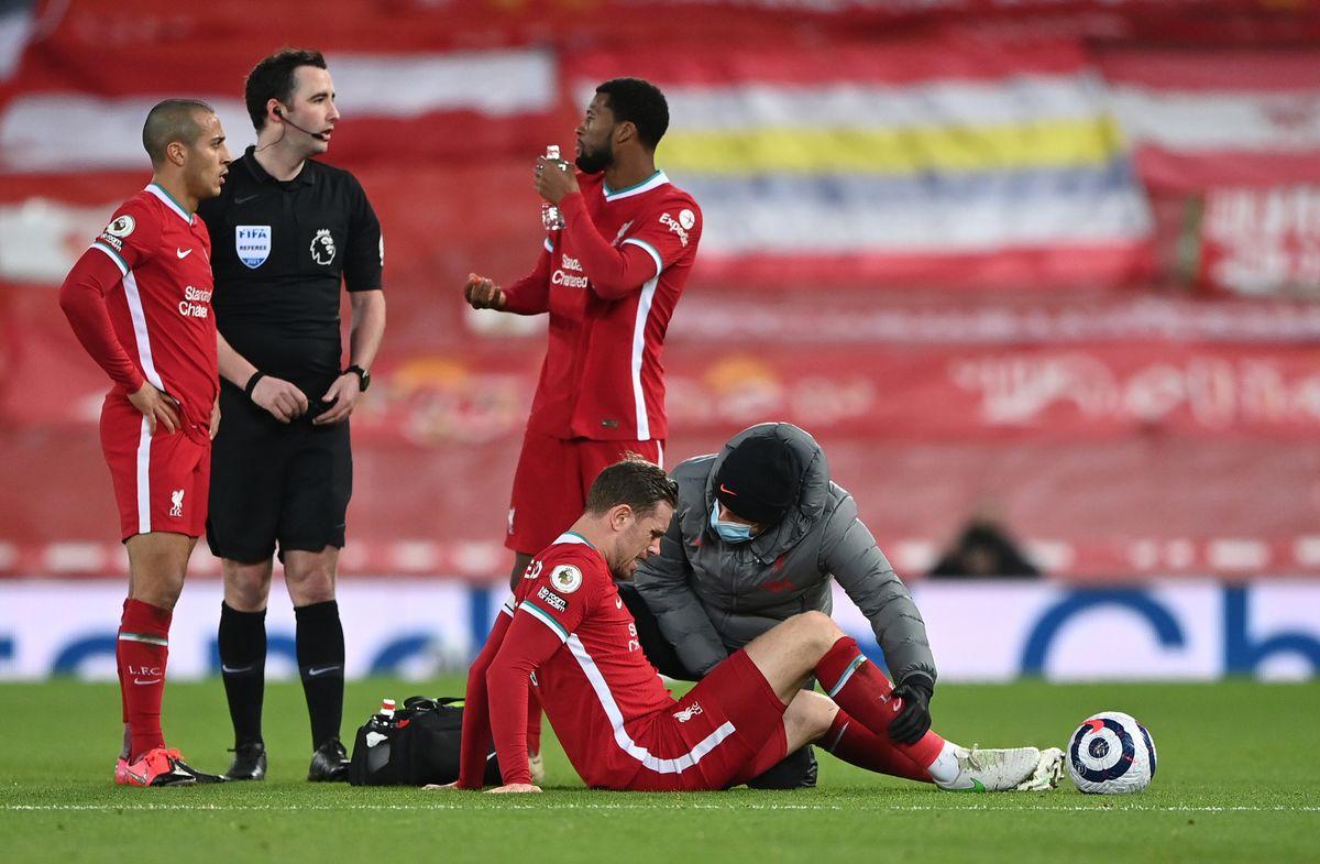 Jordan Henderson facing spell on sidelines after having groin surgery