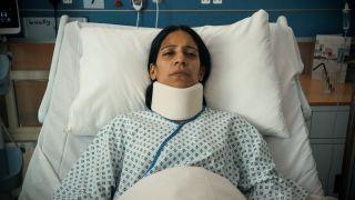 Holby City Vineeta Rishi plays Lucky Simpson