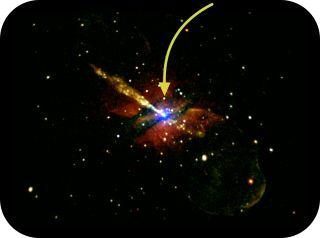 black hole centaurus