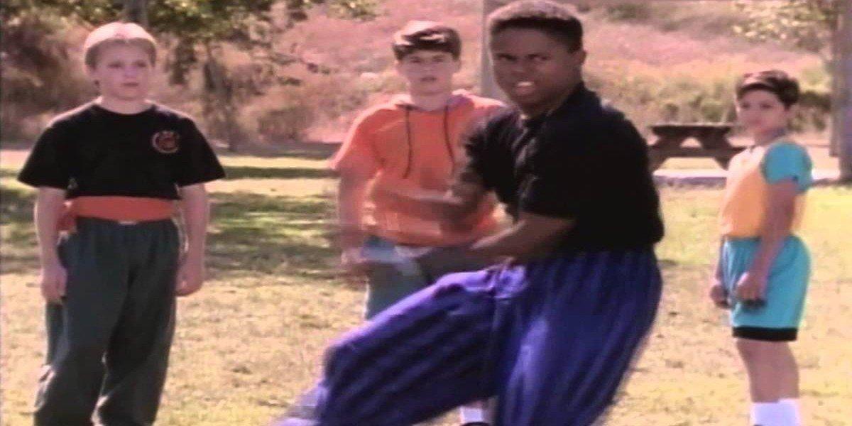 Zack dancing