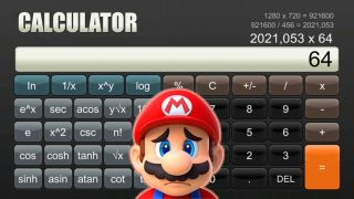 Nintendo Switch calculator app