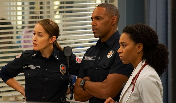 andy, ben and maggie grey's anatomy crossover station 19