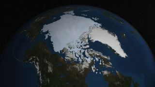 Arctic Sea Ice Coverage - August 2013