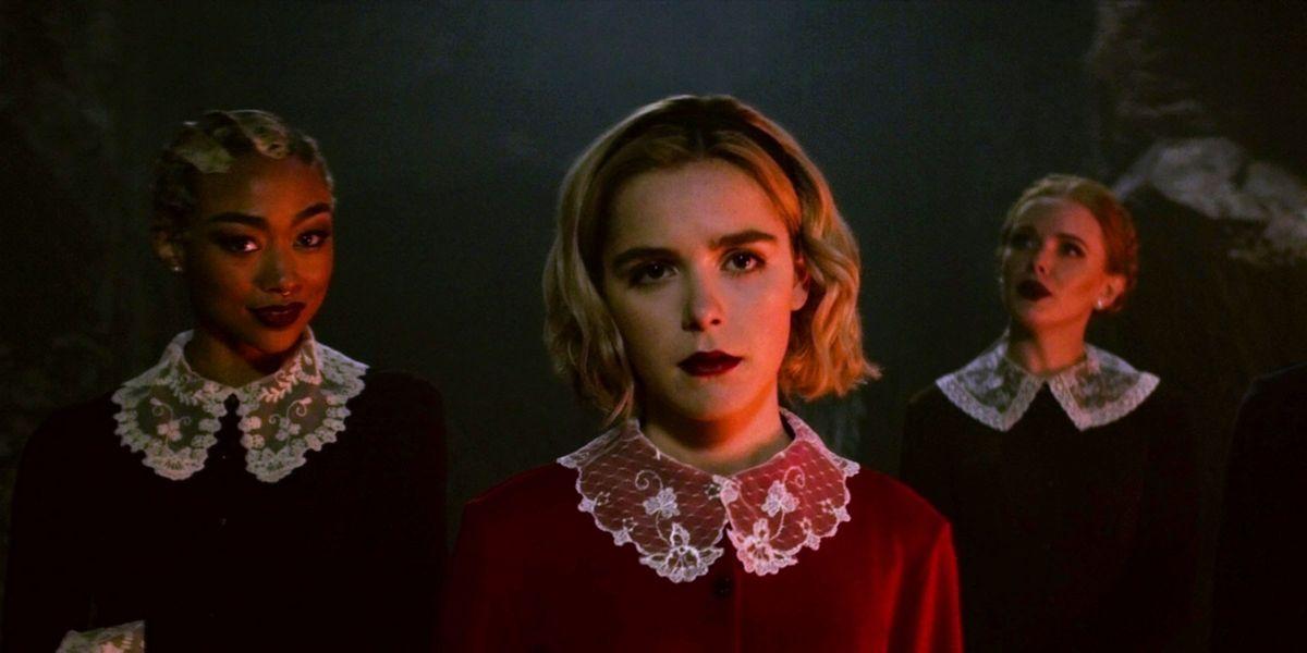 Kiernan Shipka in The Chilling Adventures of Sabrina
