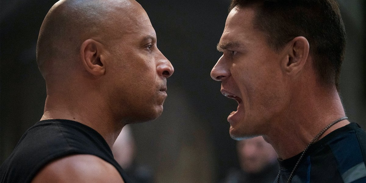 Vin Diesel and John Cena in F9