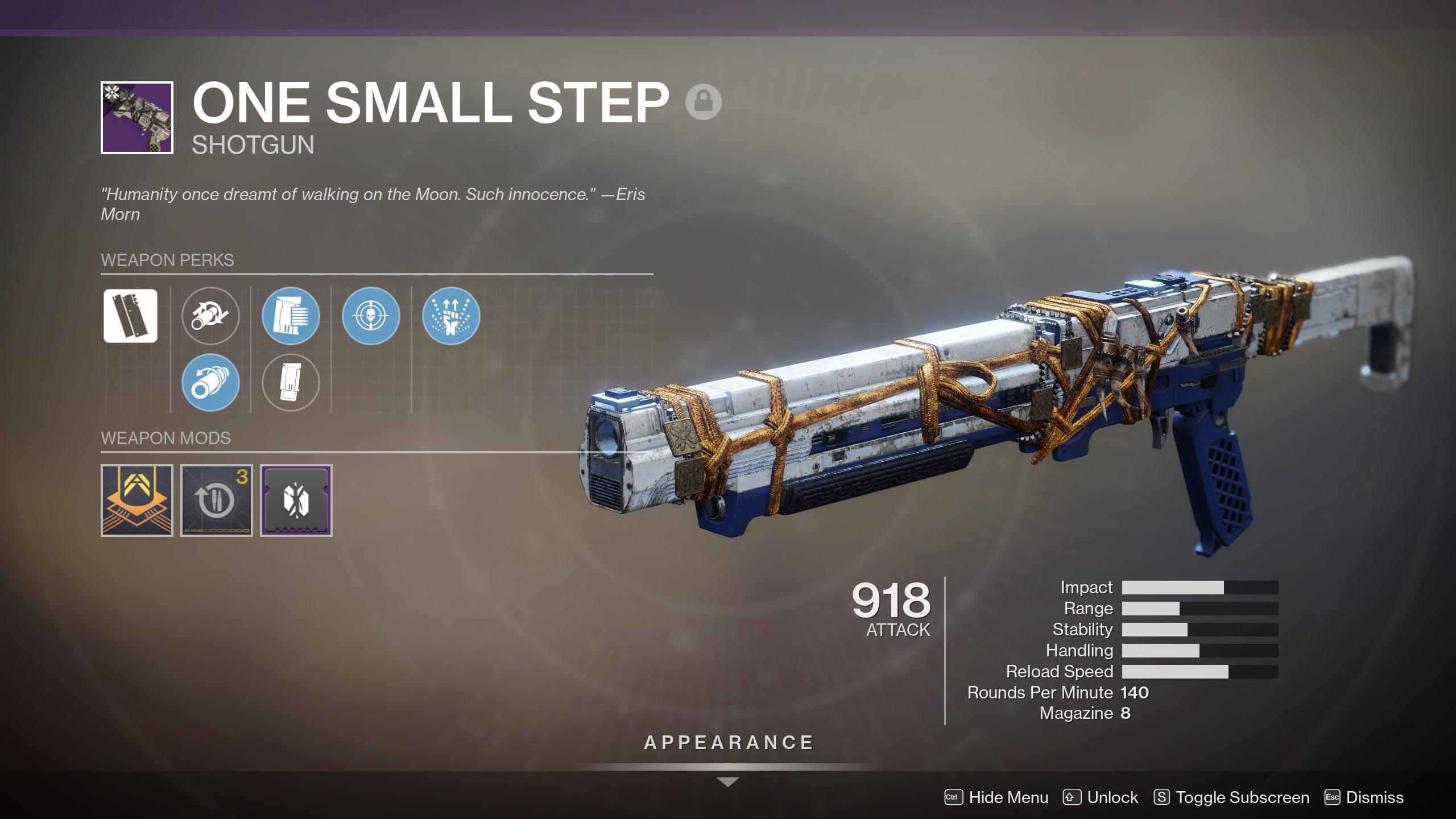 Destiny 2 One Small Step