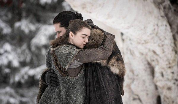 Jon Arya Game of Thrones HBO