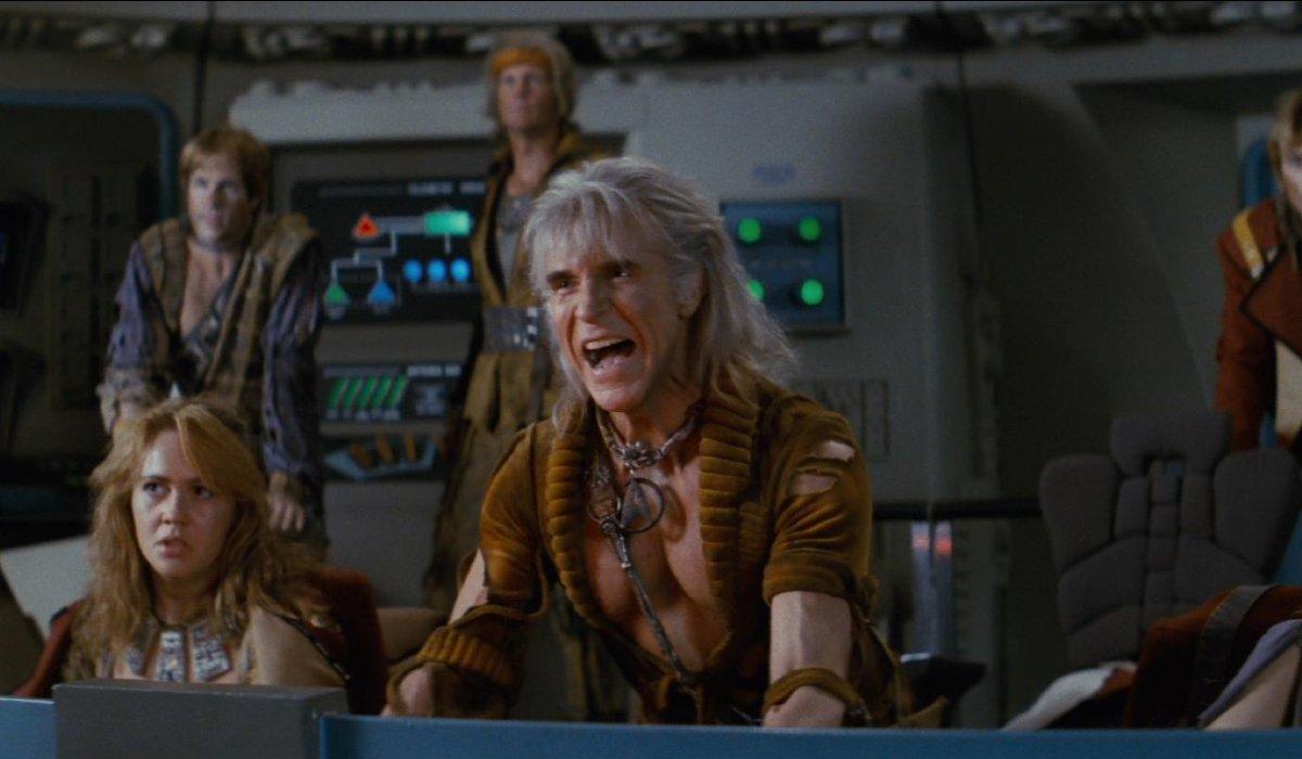 Star Trek II: The Wrath of Khan Khan giving orders to fire on the bridge