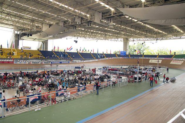 Cali velodrome track world Championships 2014