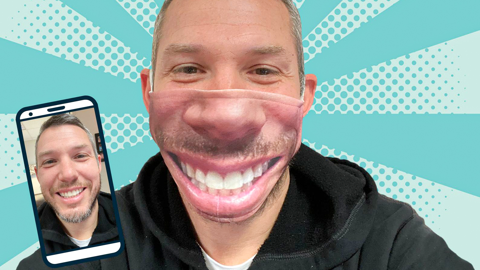 Best Face Masks Ever Put A Selfie On Your Face With These Custom Photo Face Masks Digital Camera World