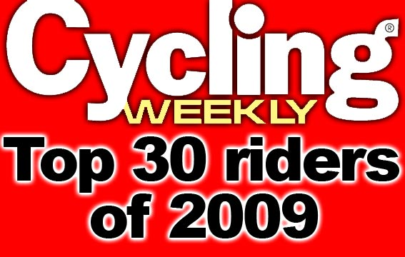 CW's top 30 riders of 2009 logo