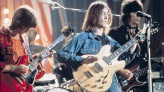 Lennon + Clapton