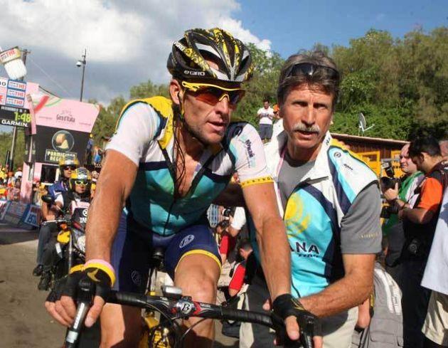 lance armstrong Giro Italia 2009 stage 19