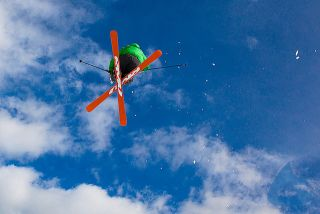 winter teva mountain games ski jump