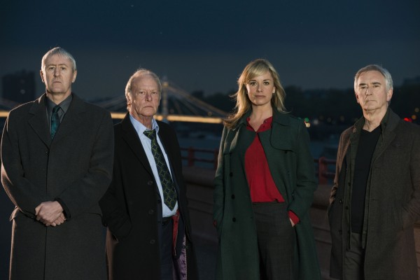 Nicholas, Dennis, Tamzin Outhwaite and Denis Lawson (BBC/Wall to Wall Media/Amanda Searle)