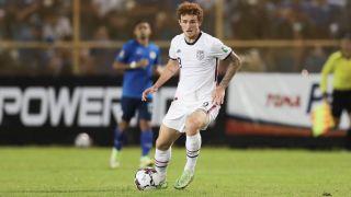 USA vs Canada live stream: Josh Sargent #9 of the United States against El Salvador