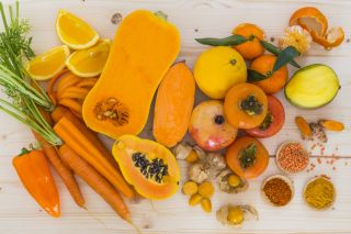 orange veggies, vitamin a