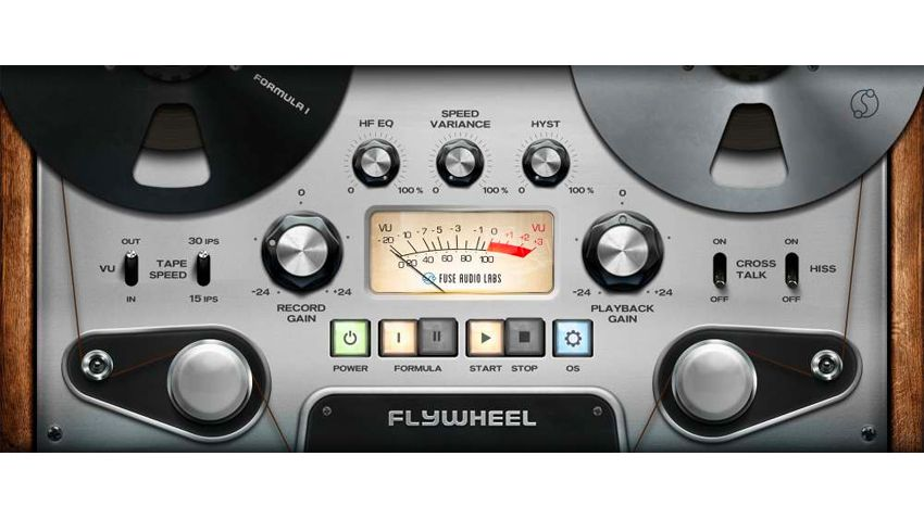 "Flywheel promises all the ""special sauce"" of reel-to-reel tape in a simple and affordable VST plugin"