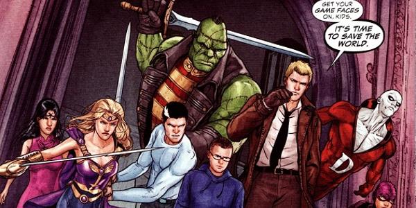 Justice League Dark Saving The World