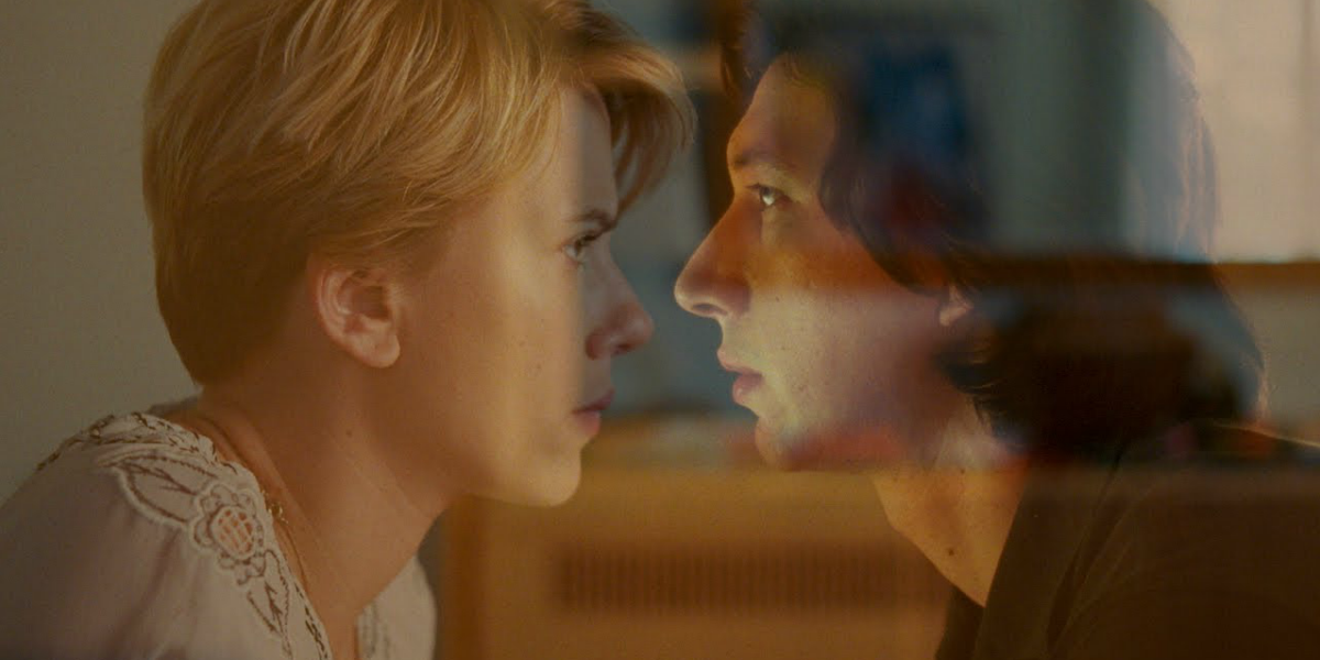 Scarlett Johansson and Adam Driver in Marriage Story