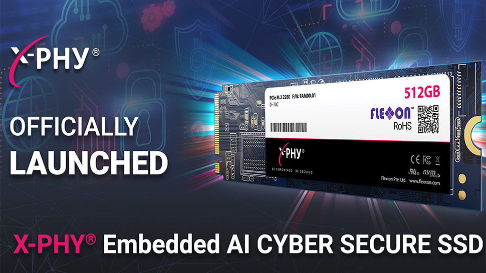 Flexxon Launches X-Phy SSD with Embedded AI-Based Security Features