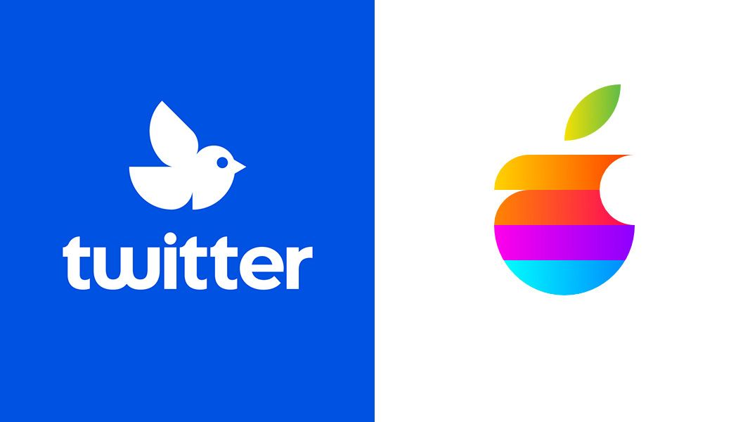 Designers give iconic logos a radical makeover