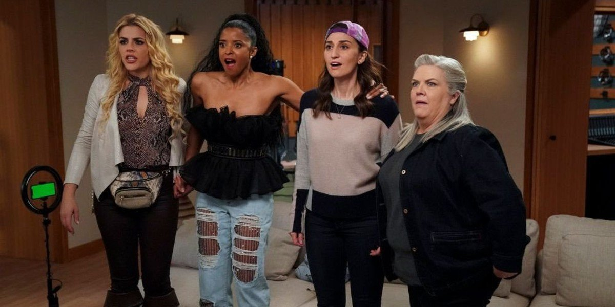 The Cast of Peacock's Girls5eva
