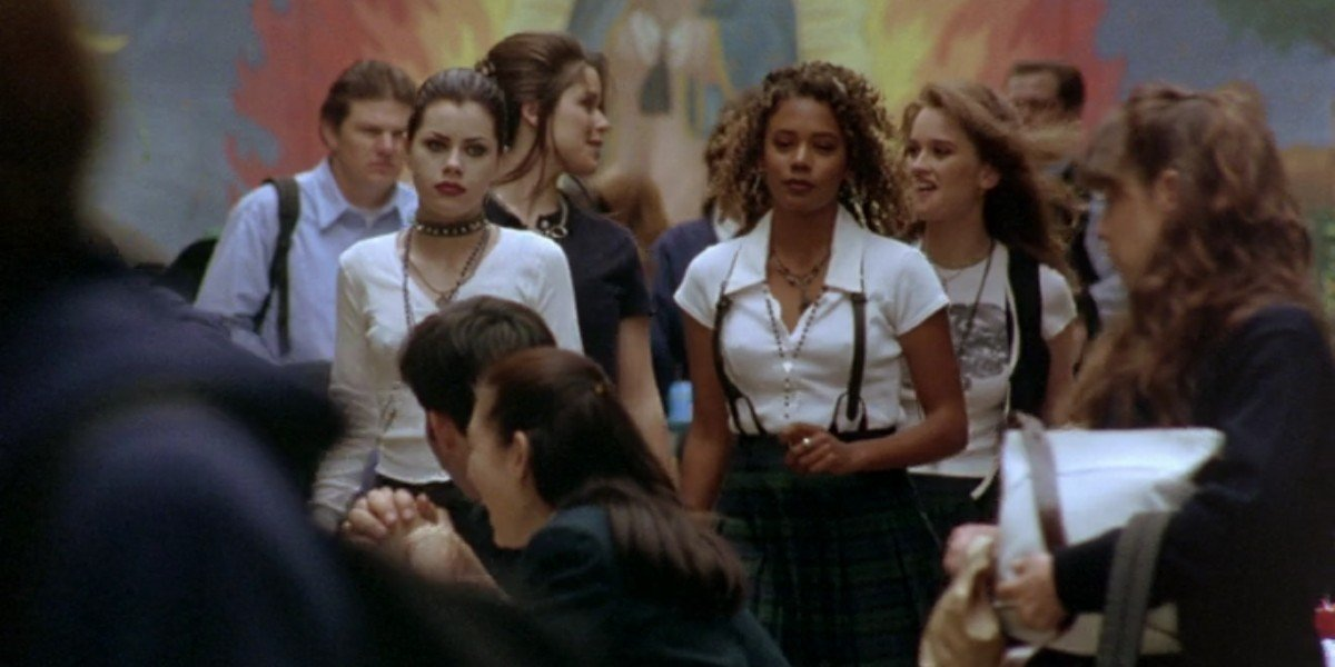 Fairuza Balk. Rachel True, Neve Campbell, and Robin Tunney in The Craft