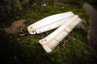 Viking Antler Comb
