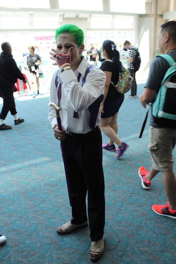 SDCC Costume the joker