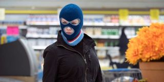 Beth robbing the grocery store