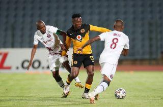 Philani Zulu challenged by Vuyo Mere and Lebohang Mokoena