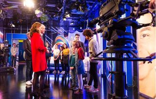 Blue Peter William and Kate visit